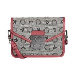 Karl Lagerfeld K / Jacquard Small Crossbody Laukku