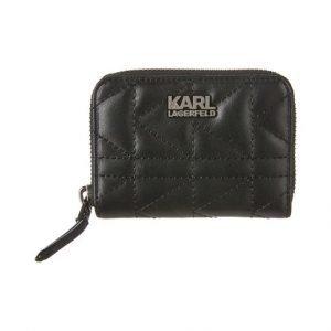 Karl Lagerfeld K / Kuilted Small Zip Nahkalompakko