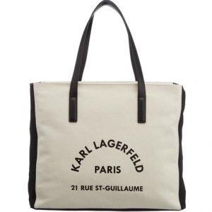 Karl Lagerfeld K / Rue Lagerfeld Cnvs Beachbag Laukku