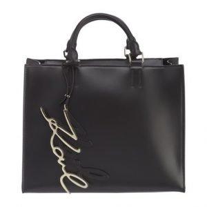 Karl Lagerfeld K / Signature Shopper Nahkalaukku