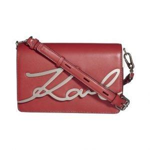 Karl Lagerfeld Signature Shoulderbag Nahkalaukku