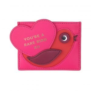 Kate Spade Be Mine Rare Bird Korttikotelo