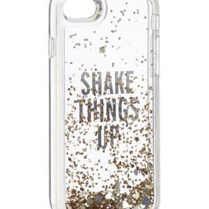 Kate Spade Clear Liquid Glitter Iphone 7 Suojakuori