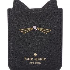 Kate Spade Embellished Cat Korttitasku