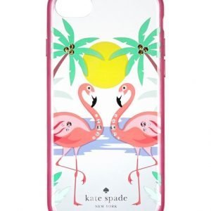 Kate Spade Jeweled Flamingos Iphone 8 Suojakuori