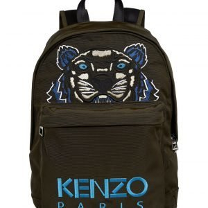 Kenzo Medium Tiger Canvas Backpack Reppu