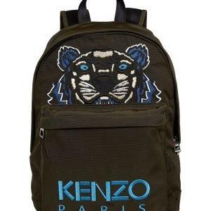 Kenzo Medium Tiger Canvas Backpack Reppu