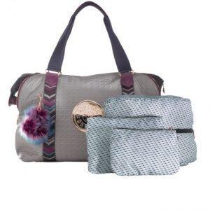 Kipling Käsilaukku Harmaa / Fuksia