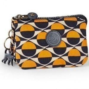 Kipling Meikkilaukku Keltainen / Tummansininen