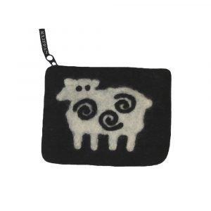 Klippan Yllefabrik Black Sheep Kukkaro