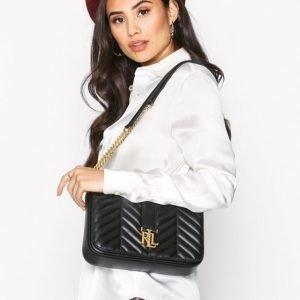 Lauren Ralph Lauren Brenda Medium Shoulder Bag Olkalaukku Musta