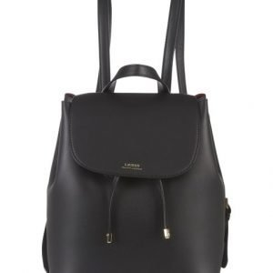 Lauren Ralph Lauren Dryden Flap Backpack Medium Nahkareppu