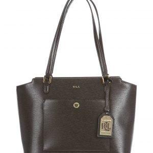 Lauren Ralph Lauren Modern Pocket Shopper Nahkalaukku