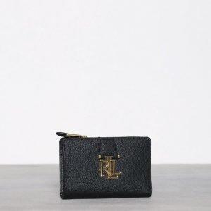 Lauren Ralph Lauren New Compact Wallet Lompakko Black