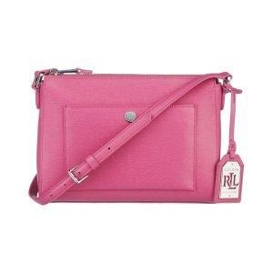 Lauren Ralph Lauren Newbury Pocket Crossbody Nahkalaukku