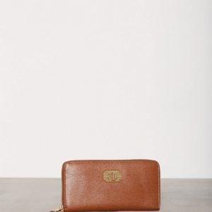 Lauren Ralph Lauren Zip Wallet Lompakko Tan