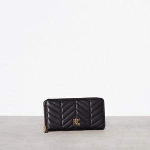 Lauren Ralph Lauren Zip Wallet Medium Lompakko Musta