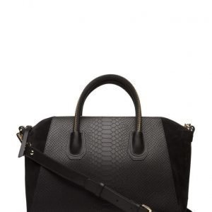 Leowulff Serpent Black Gold Bag olkalaukku