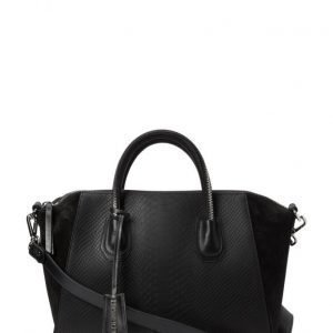 Leowulff Serpent Black Silver Bag olkalaukku