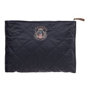 Lexington Enville Quilted Clutch Laukku Deep Marine Blue