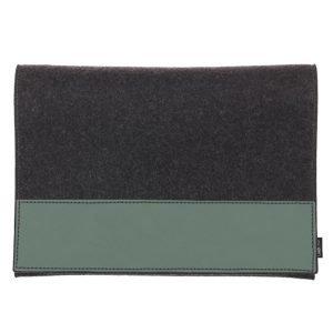 Lind Dna Ram Laukku 13 Nupo Pastel Green / Wool Anthracite
