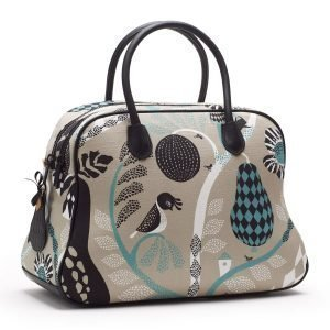 Littlephant Fruitgarden Large Day Bag Laukku Harmaa