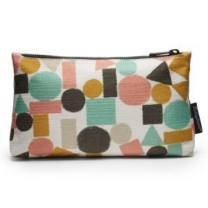 Littlephant Geometrics Zip Case Pussukka Valkoinen / Multi