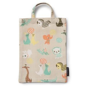 Littlephant Little Friends Mini Shopper Ostoskassi Harmaa / Multi