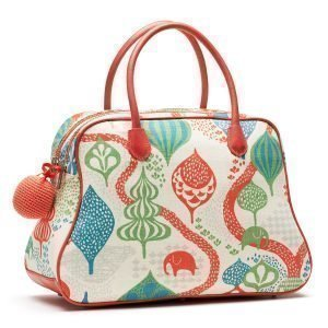 Littlephant Saga Forest Large Day Bag Laukku Valkoinen / Punainen