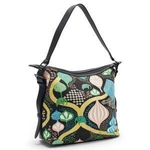 Littlephant Saga Forest Small Messenger Bag Lähettilaukku Musta / Multi