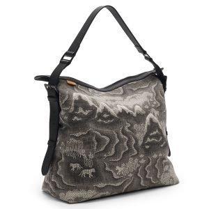 Littlephant Tiger Island Messenger Bag Lähettilaukku Harmaa