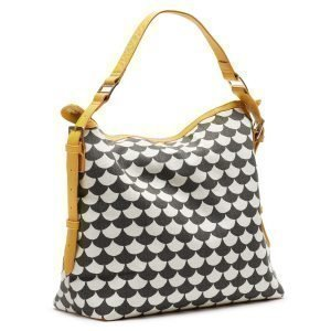 Littlephant Waves Messenger Bag Lähettilaukku Musta / Harmaa