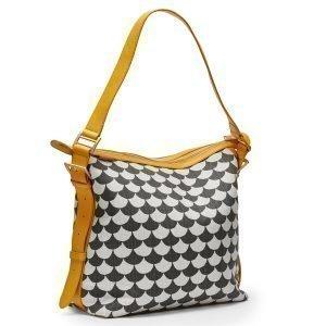 Littlephant Waves Small Messenger Bag Lähettilaukku Musta / Harmaa