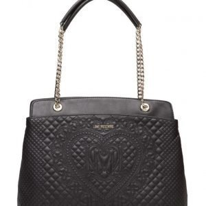 Love Moschino Bags Embroidered Polyurethane Bag olkalaukku
