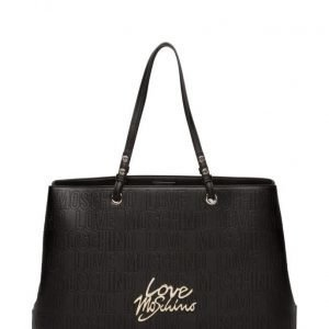 Love Moschino Bags Perforated Love Moschino Logo Tote