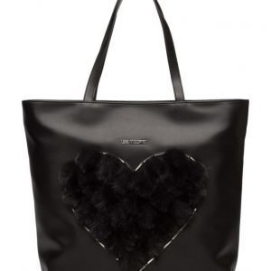 Love Moschino Bags Polyurethane Bag + Eco Fur