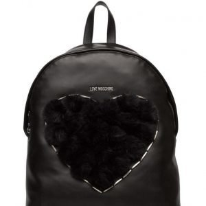 Love Moschino Bags Polyurethane Bag + Eco Fur reppu