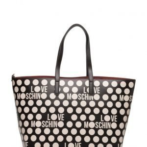 Love Moschino Bags Reversible/Foldable Shopper With Detachable Pouch