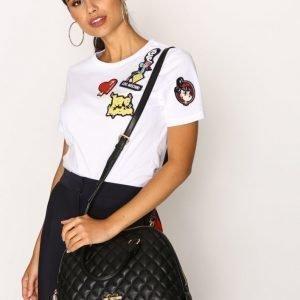 Love Moschino Quiltad Handväska Käsilaukku Musta