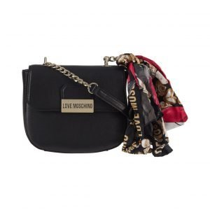 Love Moschino Small Round Crossbody Laukku + Huivi