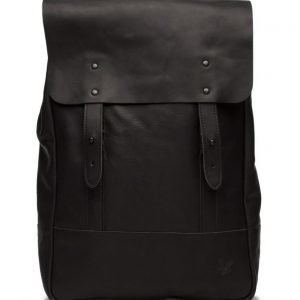 Lyle & Scott Leather Backpack reppu