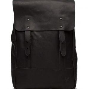 Lyle & Scott Leather Backpack reppu