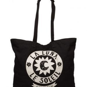 Maison Scotch Big Cotton Tote Bag With Xl Artwork