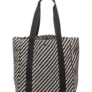 Maison Scotch Shopper Bag In Various Wool Qualities