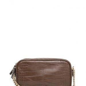 Mango Croc-Effect Cross Body Bag pikkulaukku