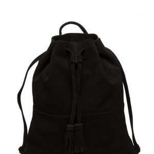 Mango Leather Backpack reppu