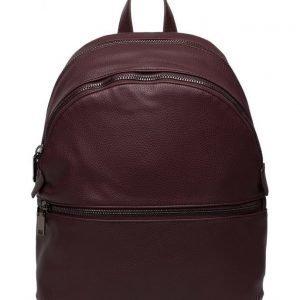 Mango Zip Pebbled Backpack reppu