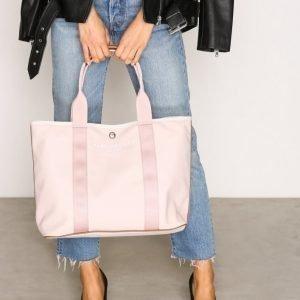 Marc Jacobs Canvas Shopper Ew Tote Kangaslaukku Vaaleanpunainen