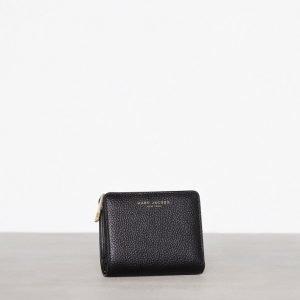 Marc Jacobs Mini Compact Wallet Lompakko Musta / Kulta