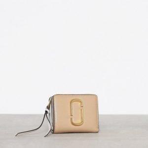 Marc Jacobs Mini Compact Wallet Lompakko Sand Castles